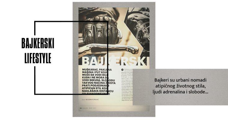BAJKERSKI (LIFE)STYLE (Esquire, mart 2017)