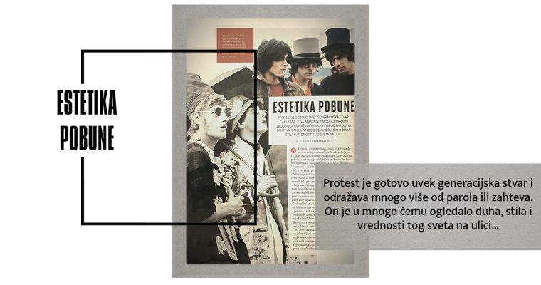 ESTETIKA POBUNE (Esquire, maj 2017)